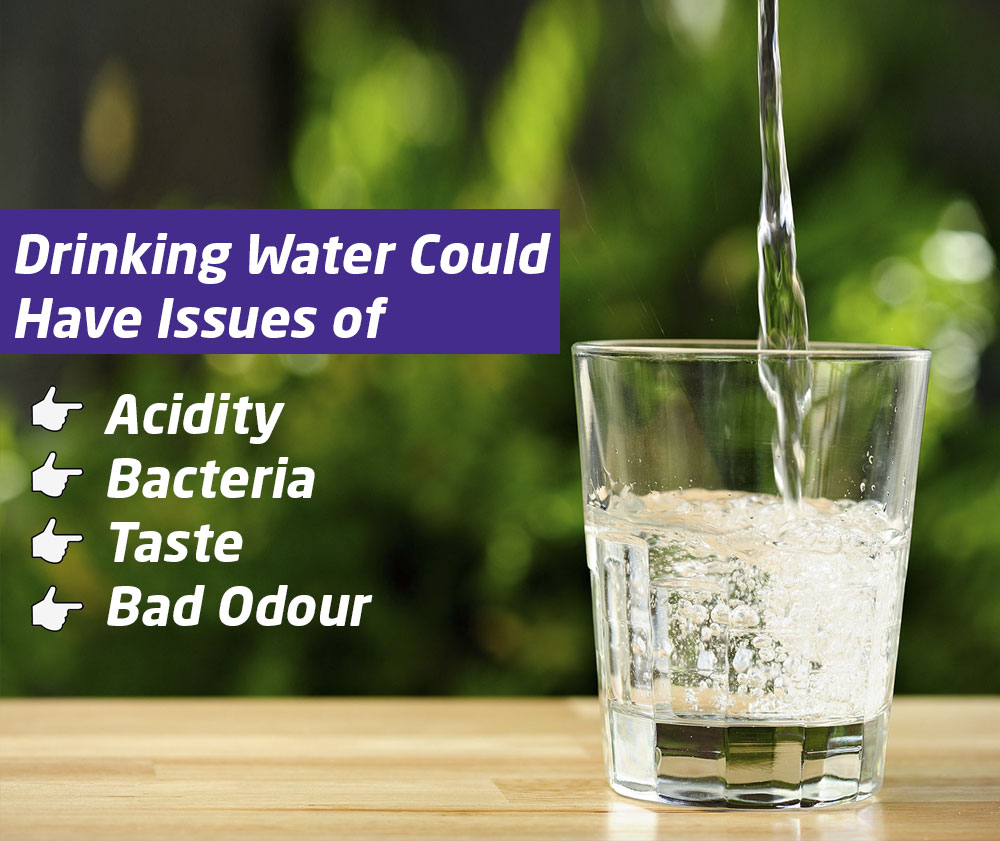 Drinking water could have issues